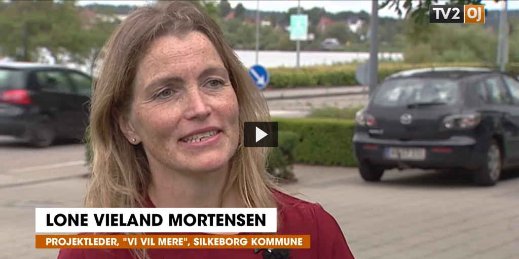 Lone Vieland Mortensen på TV2 Østjylland